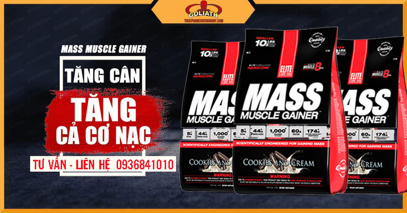 công dụng của EliteLab Mass Muscle Gainer 10LBS