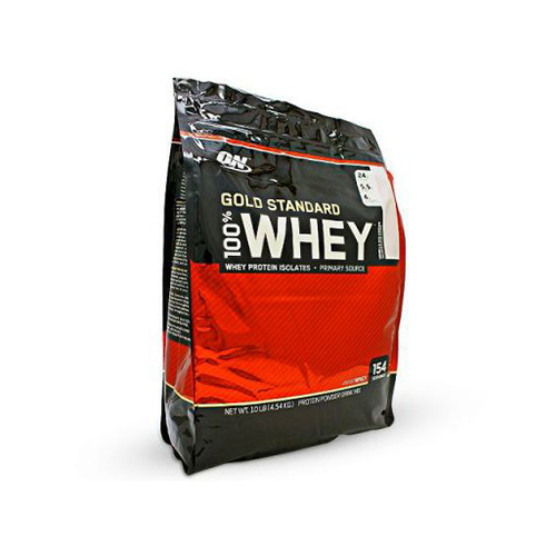 ON Gold Standard 100% Whey, 10 Lbs (4.54 kg)