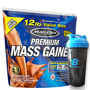 MuscleTech 100% Premium Mass Gainer 12 Lbs