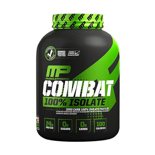 Sữa Tăng Cơ MusclePharm Combat 100% Isolate 2.27kg