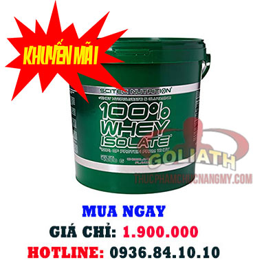 Scitec Nutrition 100% Whey Protein Isolate 4000 Gams-2